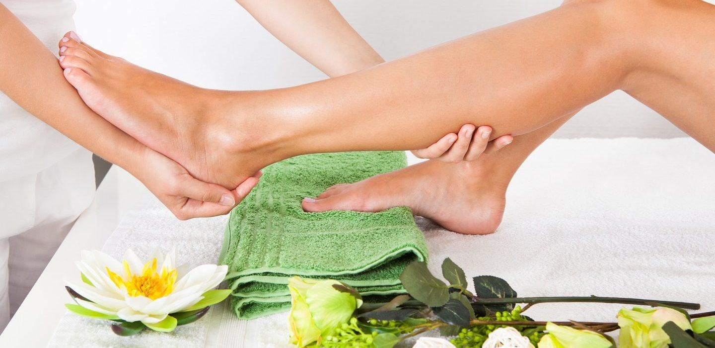 voeten en benen massage